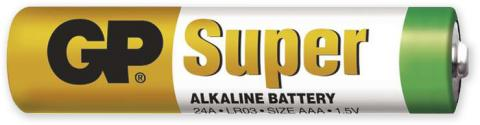 Baterie AAA, GP super