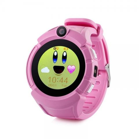 GPS hodinky GW600 Cam Pink