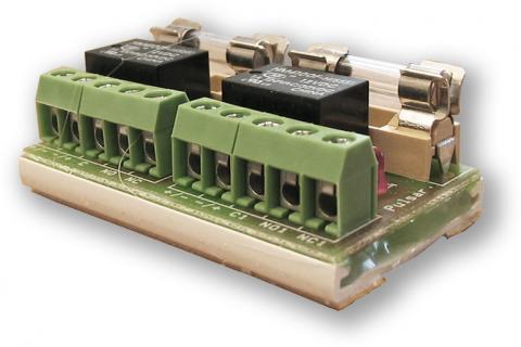RELE modul PU 2 - přídavný RELÉ modul 2 vstupy/výstupy