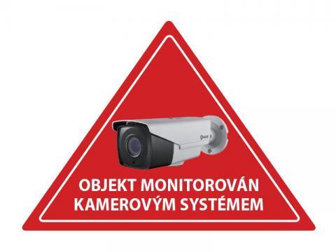 Samolepka CCTV inverzní