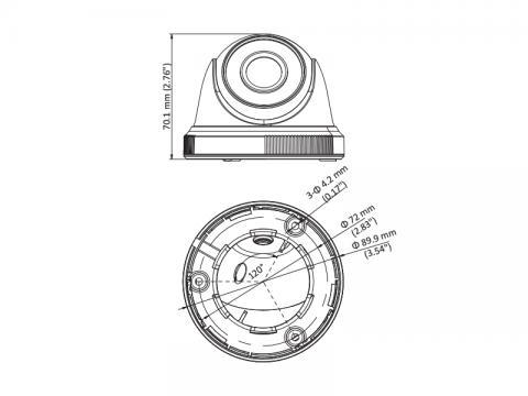 DS-2CE56D0T-IRF - (3.6mm)(C)
