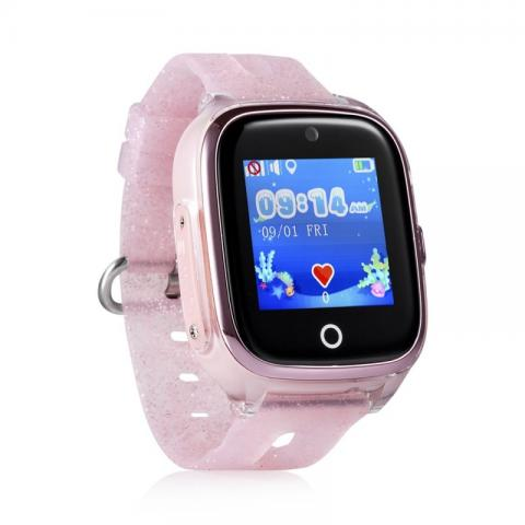 GPS Hodinky s GSM KT01 Pink