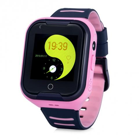 GPS Hodinky s GSM KT11 PINK
