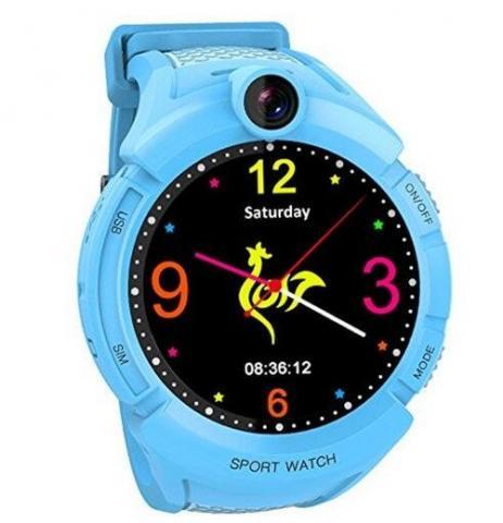 GPS hodinky GW600 Cam Blue