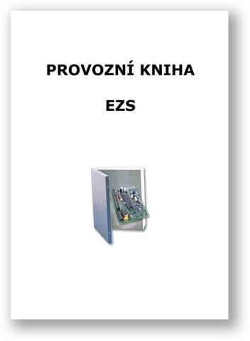 Provozní kniha EZS - tištěný formát A4 cca 20 stran