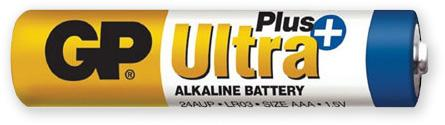 Baterie AAA, GP ultra