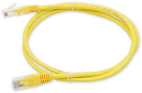 PC-201 C5E UTP/1M - žlutá