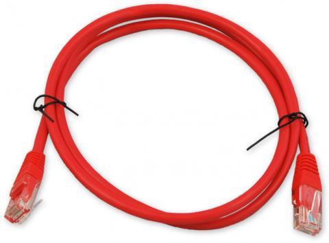 PC-600 C6 UTP/0,5M - červená