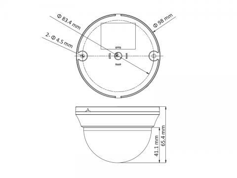DS-2CE56D0T-IRMMF - (3.6mm)(C)
