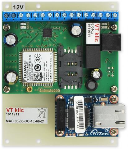 GSM VT ACCESS - relé - LAN modul