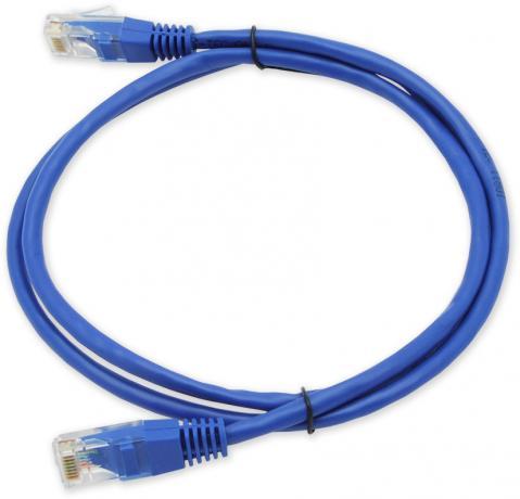 PC-201 C5E UTP/1M - modrá