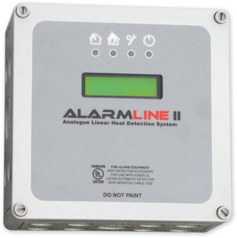 Analogová jednotka Alarmline - analogová lineární teplotní detekce