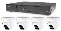 Kamerový set 1x AVTECH DVR DGD1005AV a 4x 5MPX Dome kamera AVTECH DGC5205TSE