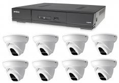 Kamerový set 1x AVTECH DVR DGD1009AV a 8x 2MPX Dome kamera AVTECH DGC1004XFT