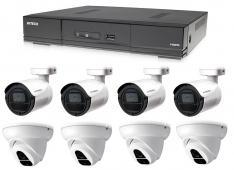 Kamerový set 1x AVTECH DVR DGD1009AV, 4x 2MPX Dome kamera AVTECH DGC1004XFT a 4x 2MPX Bullet kamera AVTECH DGC1105YFT