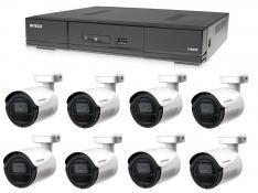 Kamerový set 1x AVTECH DVR DGD1009AV a 8x 2MPX Bullet kamera AVTECH DGC1105YFT