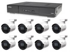 Kamerový set 1x AVTECH DVR DGD1009AV a 8x 5MPX Bullet kamera AVTECH DGC5105T