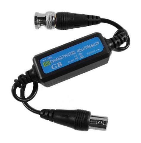 RX-GB106A - galvanický oddělovač HDCVI/TVI/AHD/CVBS videosignálu, přepěťová ochr.