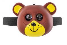 OXE LED čelová svítilna, medvěd