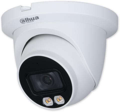 IPC-HDW3249TM-AS-LED - 2,8 mm - 2Mpix Starlight full color, bílé LED 30m, WDR, MIC, perimetr