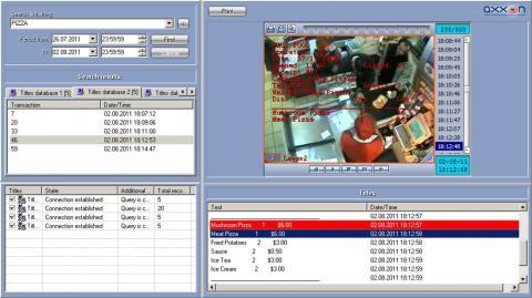 Axxon Intellect Monitoring kamera