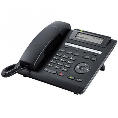 Siemens OpenScape Desk Phone CP200 - stolní telefon, černý