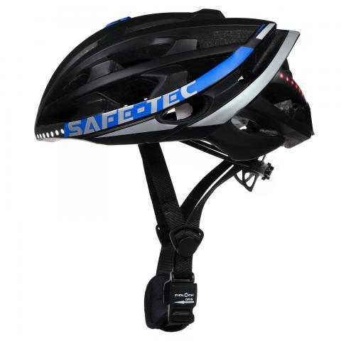 Safe-Tec TYR 2 Black-Blue L (58cm - 61cm)