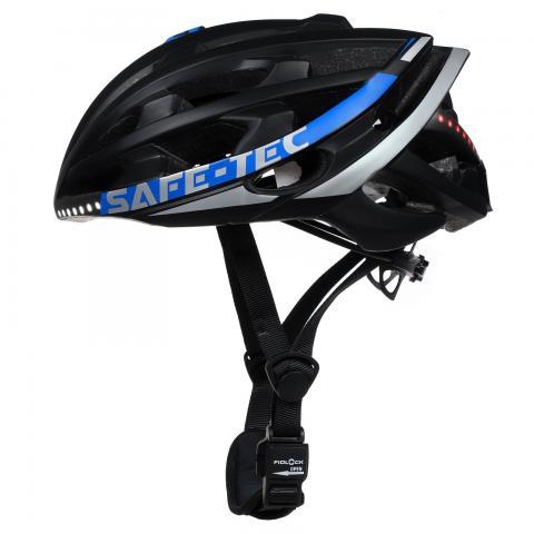 Safe-Tec TYR 2 Black-Blue M (55cm - 58cm)