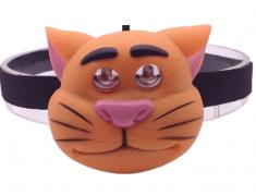 OXE LED čelová svítilna, kočka