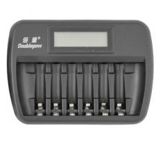OXE Nabíječka baterií AA / AAA na 6 ks, s displejem