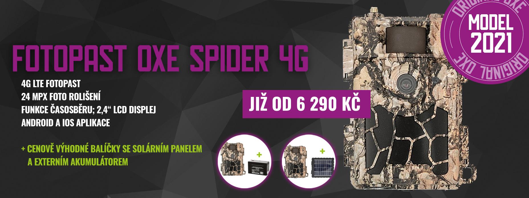 Fotopast OXE Spider 4G