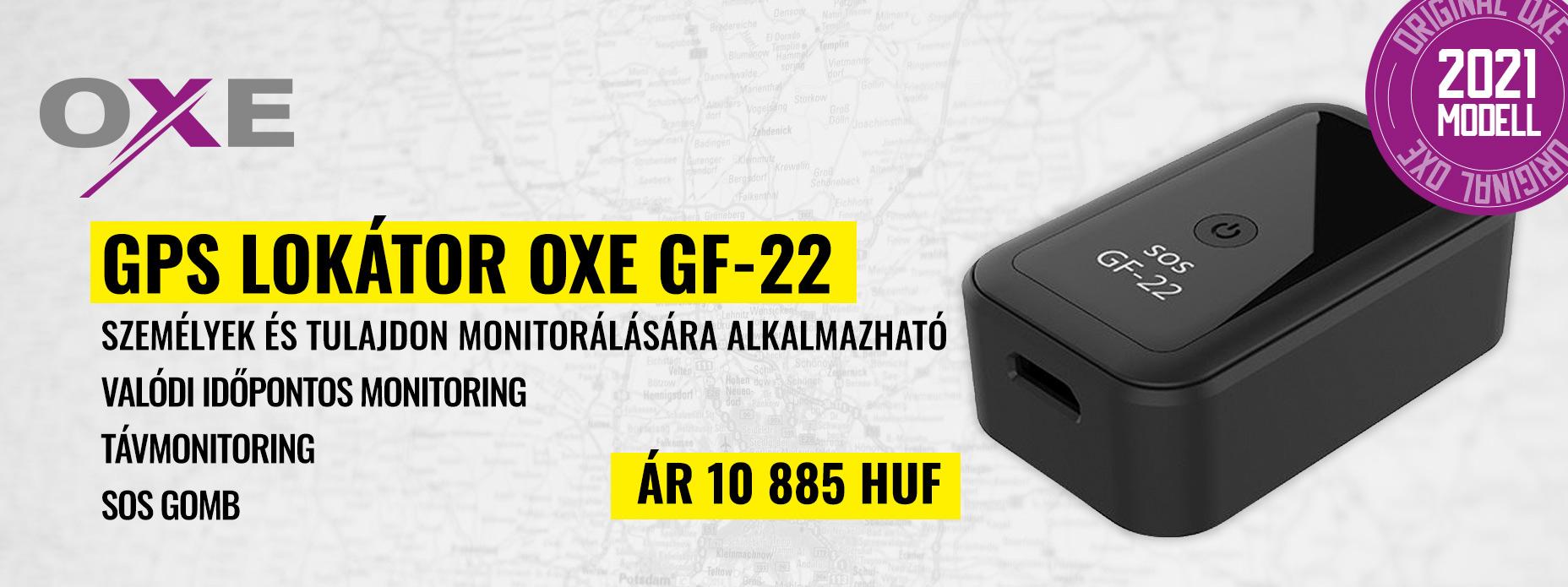 GPS lokátor OXE GF-22