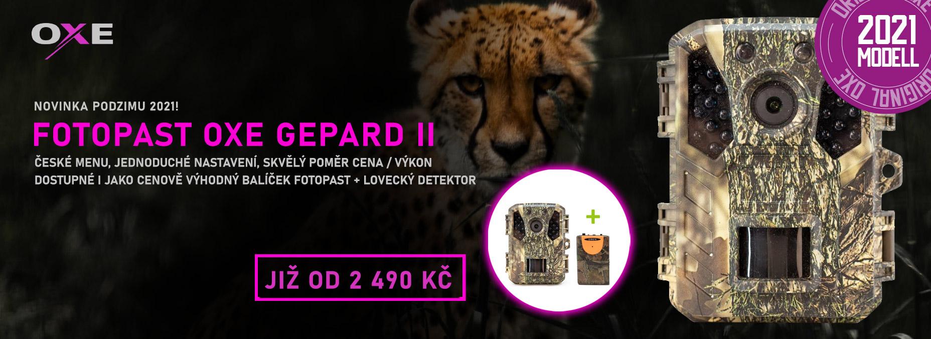 Fotopast OXE Gepard