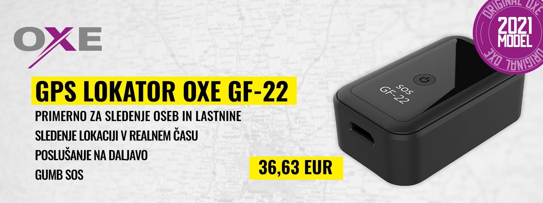 OXE GF-22 - GPS lokator