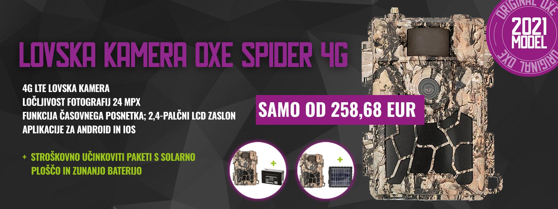 LOVSKA KAMERA OXE SPIDER 4G
