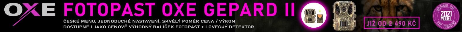 Fotopast OXE Gepard II