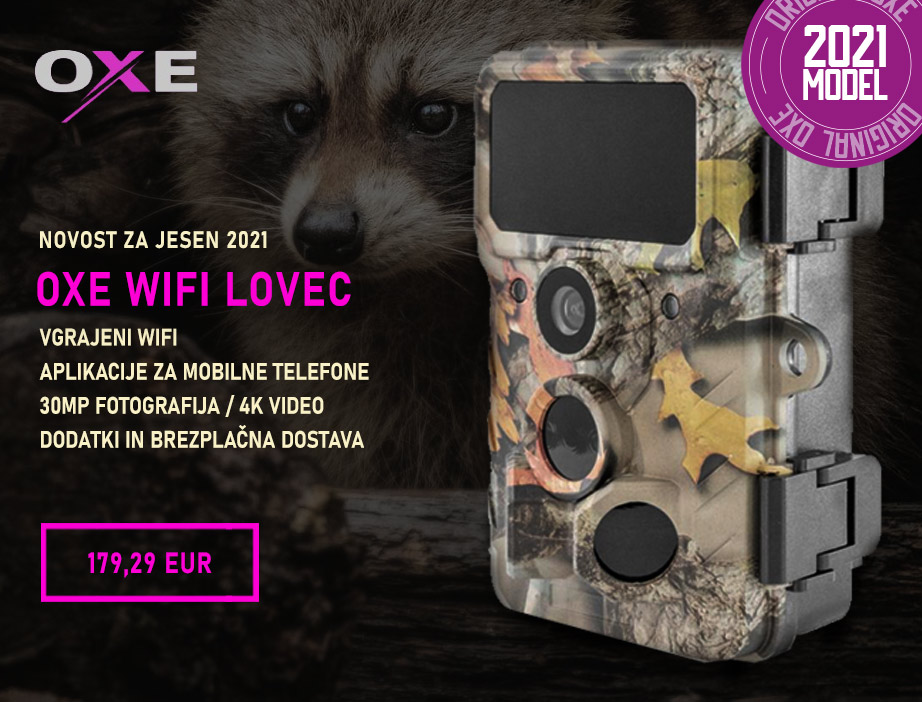Lovska kamera OXE WiFi Lovec